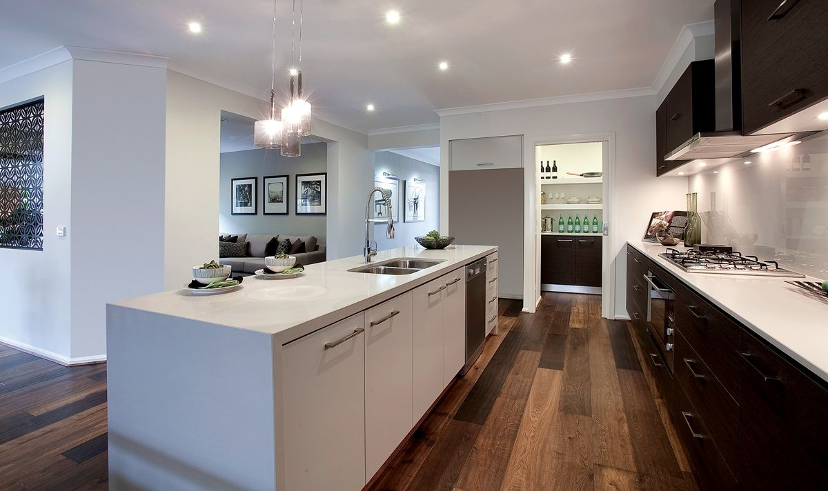 Kitchen ideas - Colours. | Home builders melbourne, Galley ...