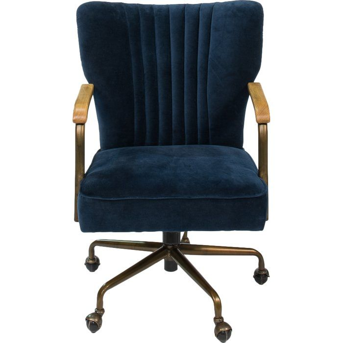 Peachy Brooks Task Chair In 2019 Tolman Group Velvet Office Pabps2019 Chair Design Images Pabps2019Com