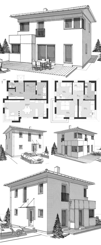 Bad design zeichnung moderne landhaus stadtvilla grundriss klein mit walmdach architektur