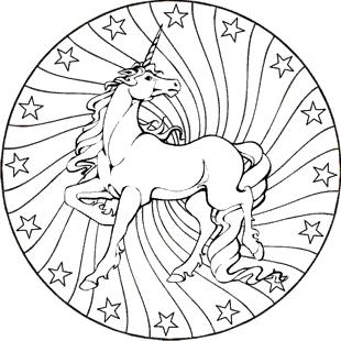 Pferde Mandala Ausmalbilder Einhorn Zum Ausmalen Ausmalbilder Mandala