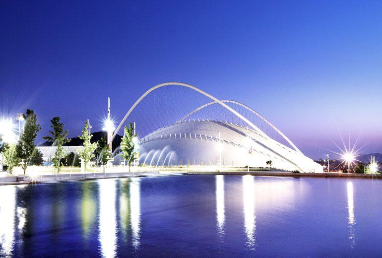 Le complexe sportif olympique d'Athènes
