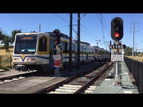 Sacramento light rail trains in may 2017 bonus other train clips light rail mozeypictures Choice Image