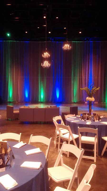 16 Lights At Memminger Auditorium In Charleston Sc Blue