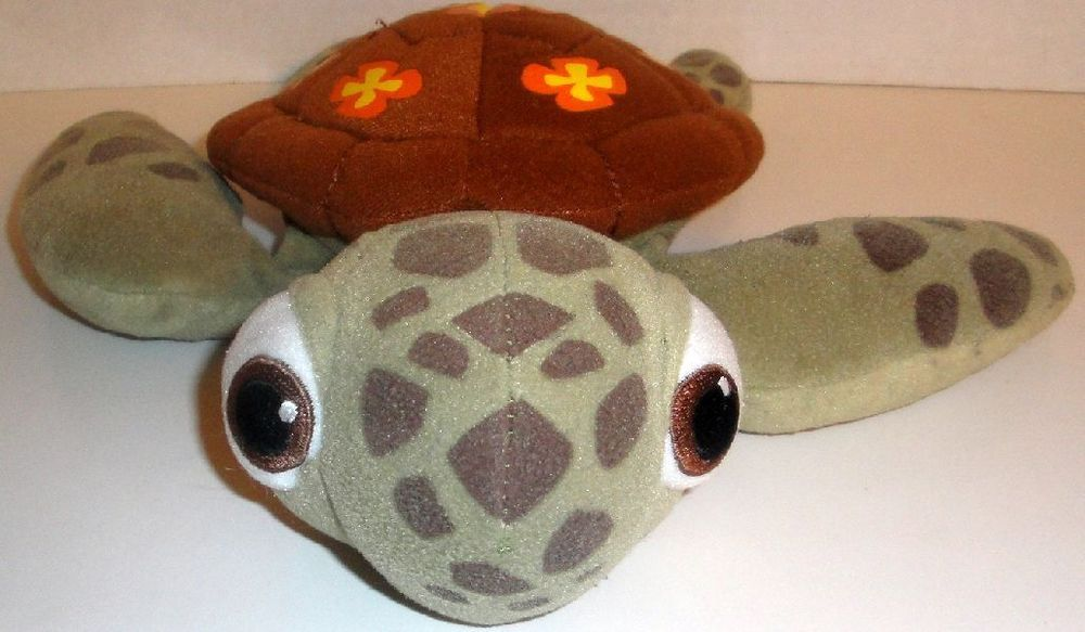 Disney Parks Finding Nemo Squirt Turtle 12 Stuffed Animal Plush