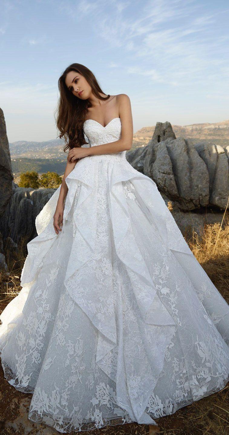Sweetheart ball gown wedding dress  Tony Ward  Wedding Dresses u La Mariee Fall   Wedding