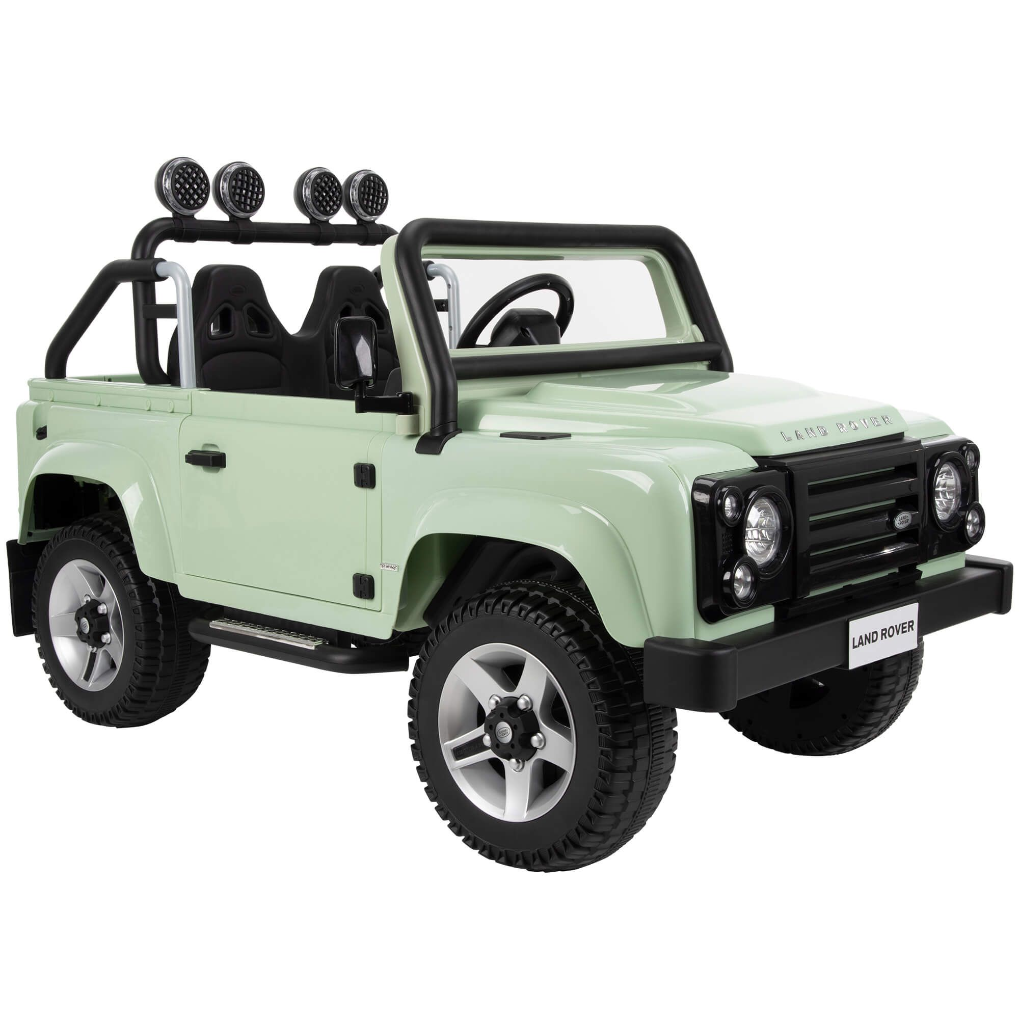 12v Land Rover Electric Battery Powered Kids Ride On Car Green Walmart Com Kids Ride On Kids Jeep Ride On Toys