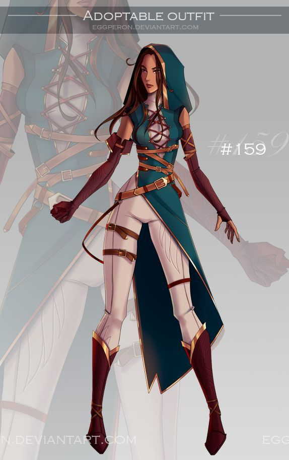 Photo of [Closed] adoptable outfits auction #187-188 by Eggperon on DeviantArt