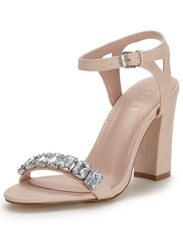 e620d8cfedf3 Lipsy Becca Two Part Block Heel Sandals