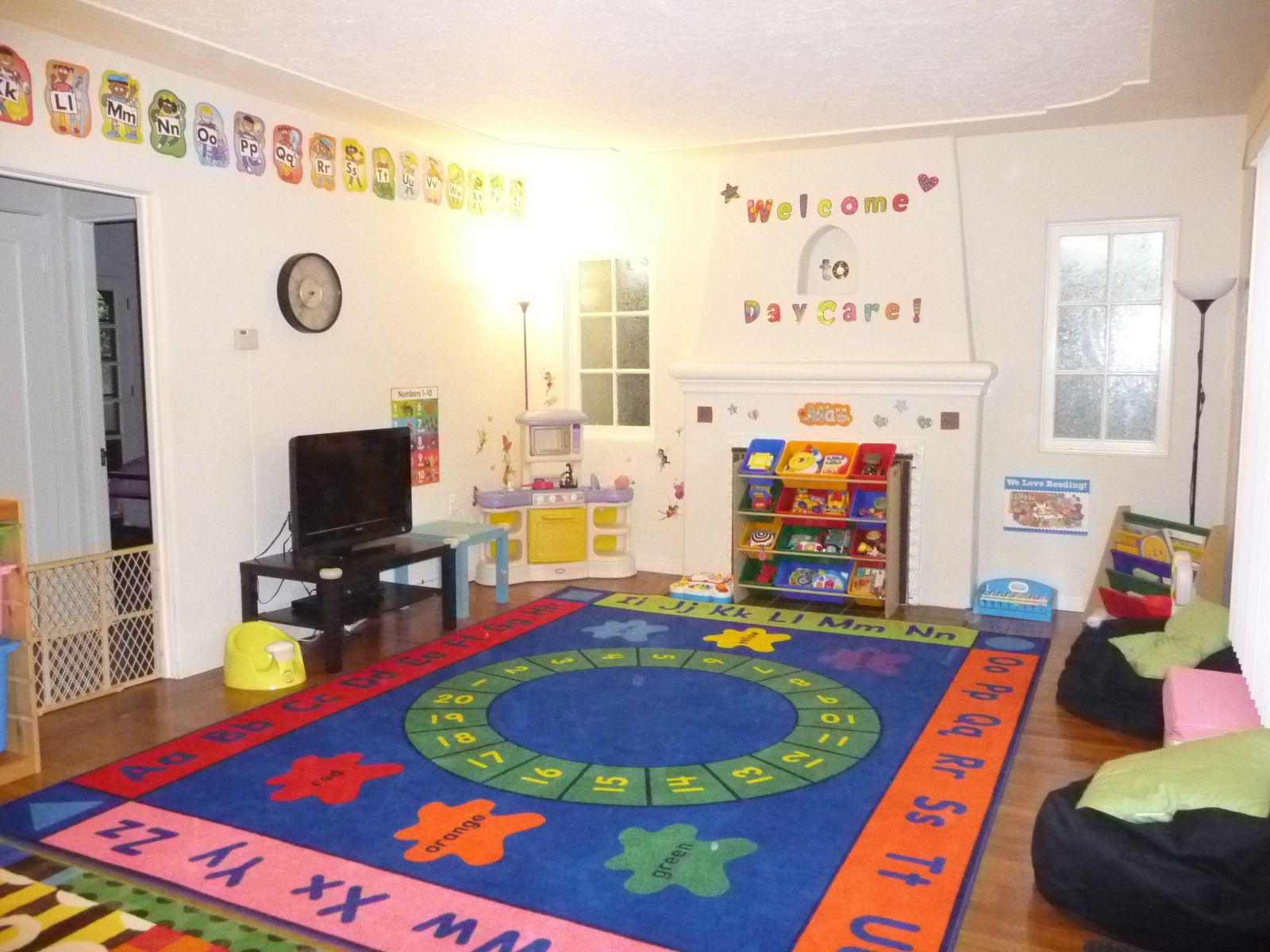 at home daycare Angels Home Daycare, a Large Family