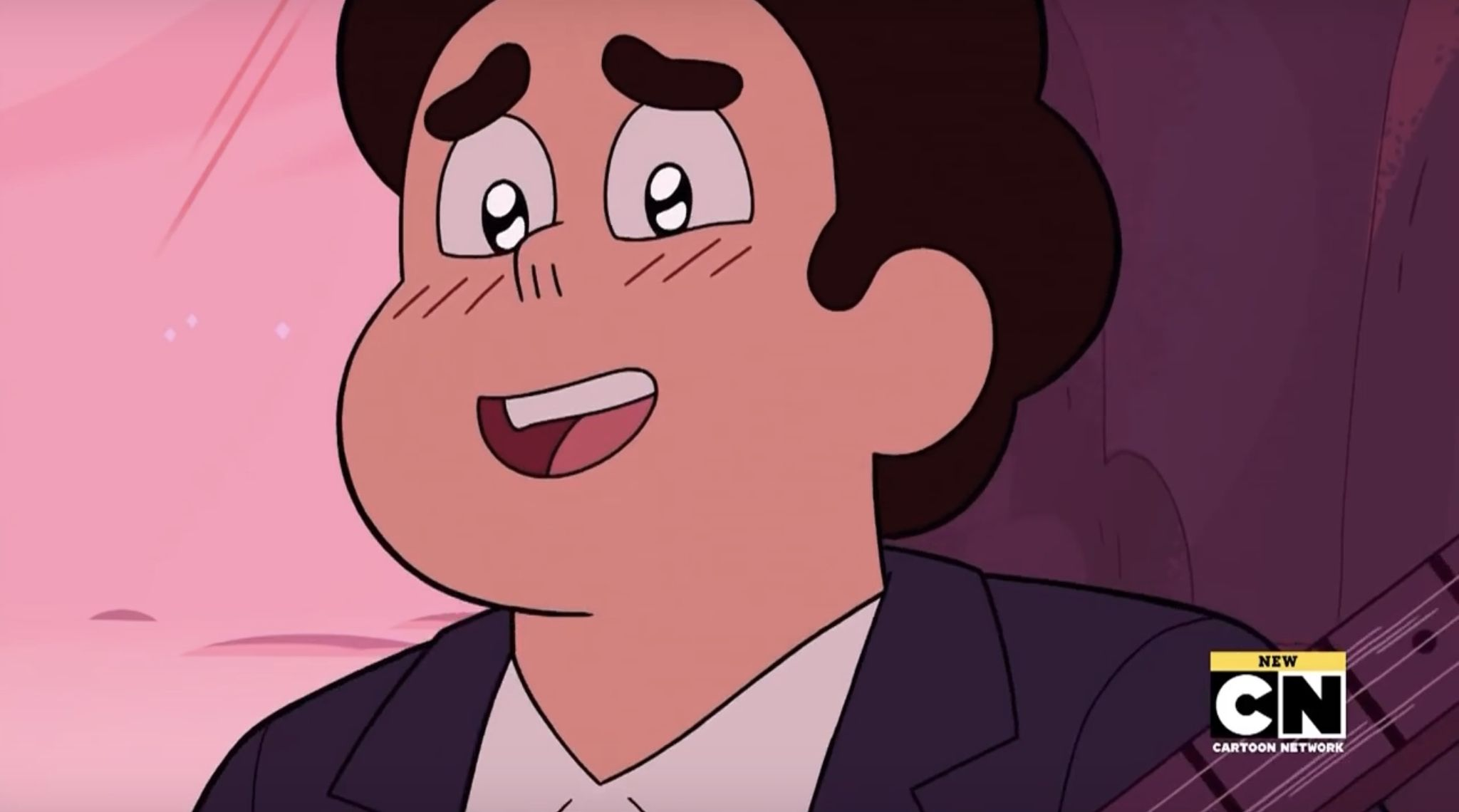 I'd rather be watching Steven universe with you