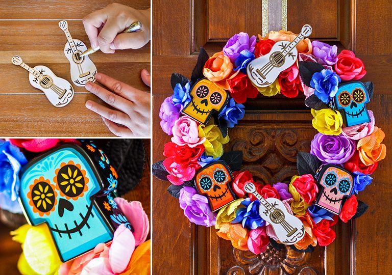 3 Disney Halloween Wreath Diys To Trick Out Your Door Disney
