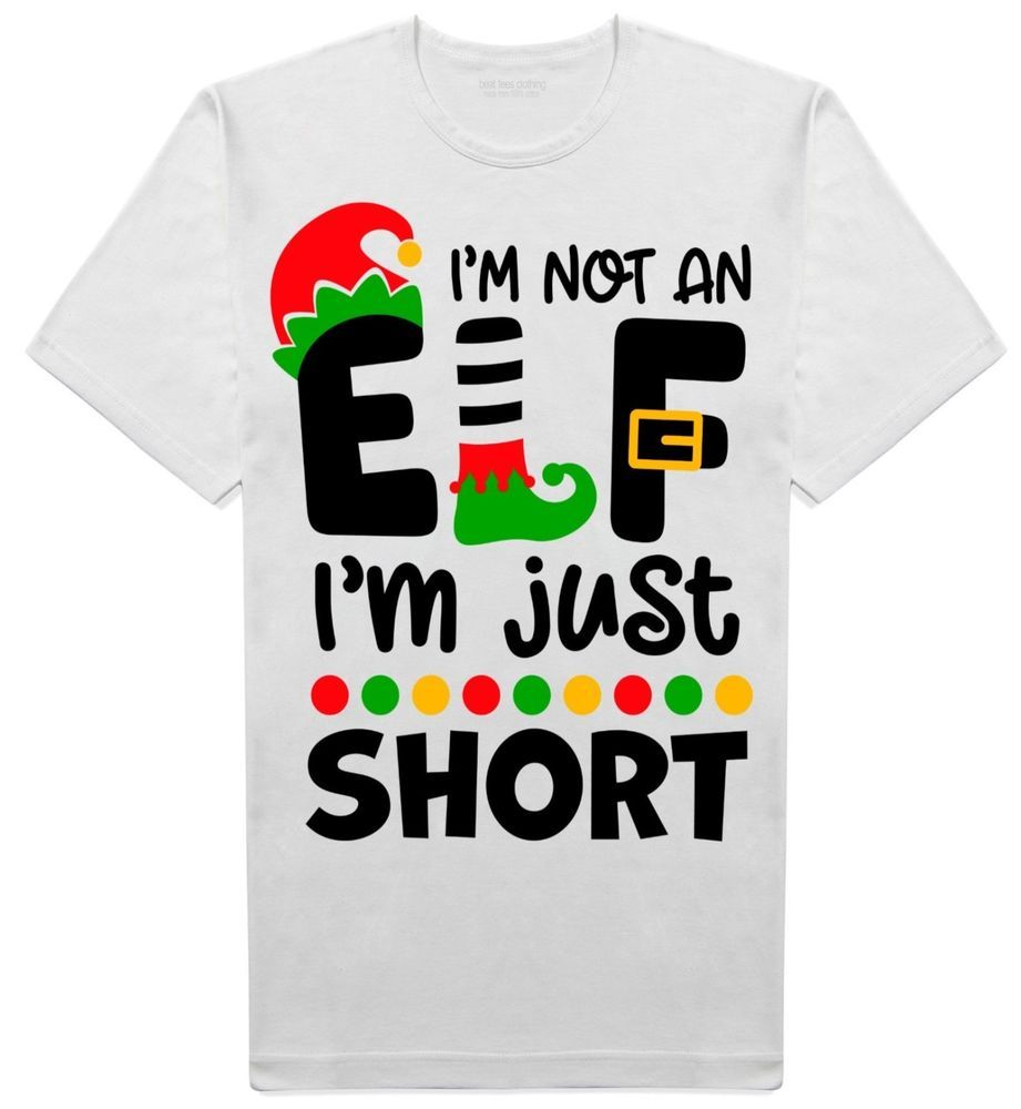 c6ce21be I'm not an Elf Christmas slogan joke t-shirt from Beat tees clothing |  Available on Ebay UK | Funny novelty secret santa gift idea #tshirts  #secretsanta ...