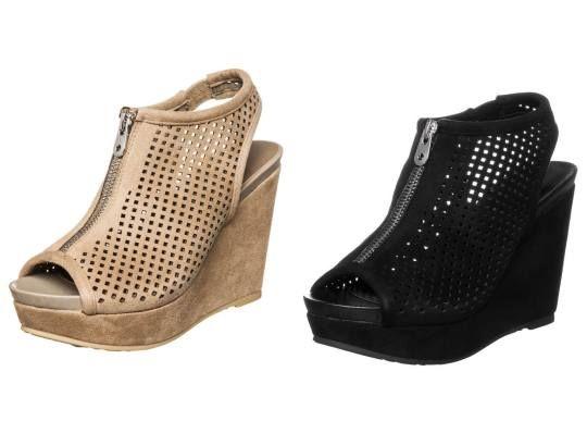Francesco Milano Sandalias Con Plataforma Nero sandalias calzado sandalias plataforma Nero Milano Francesco Noe.Moda