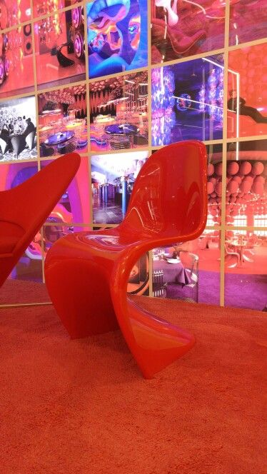 The Panton Chair Is An S Shaped Plastic Chair Created By The Danish  Designer Verner
