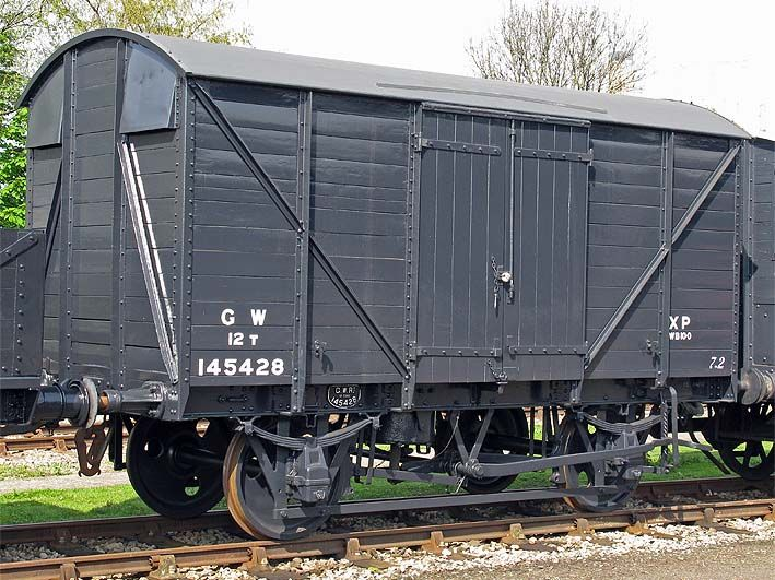 145428 Van Best Wagons Train Car Rolling Stock