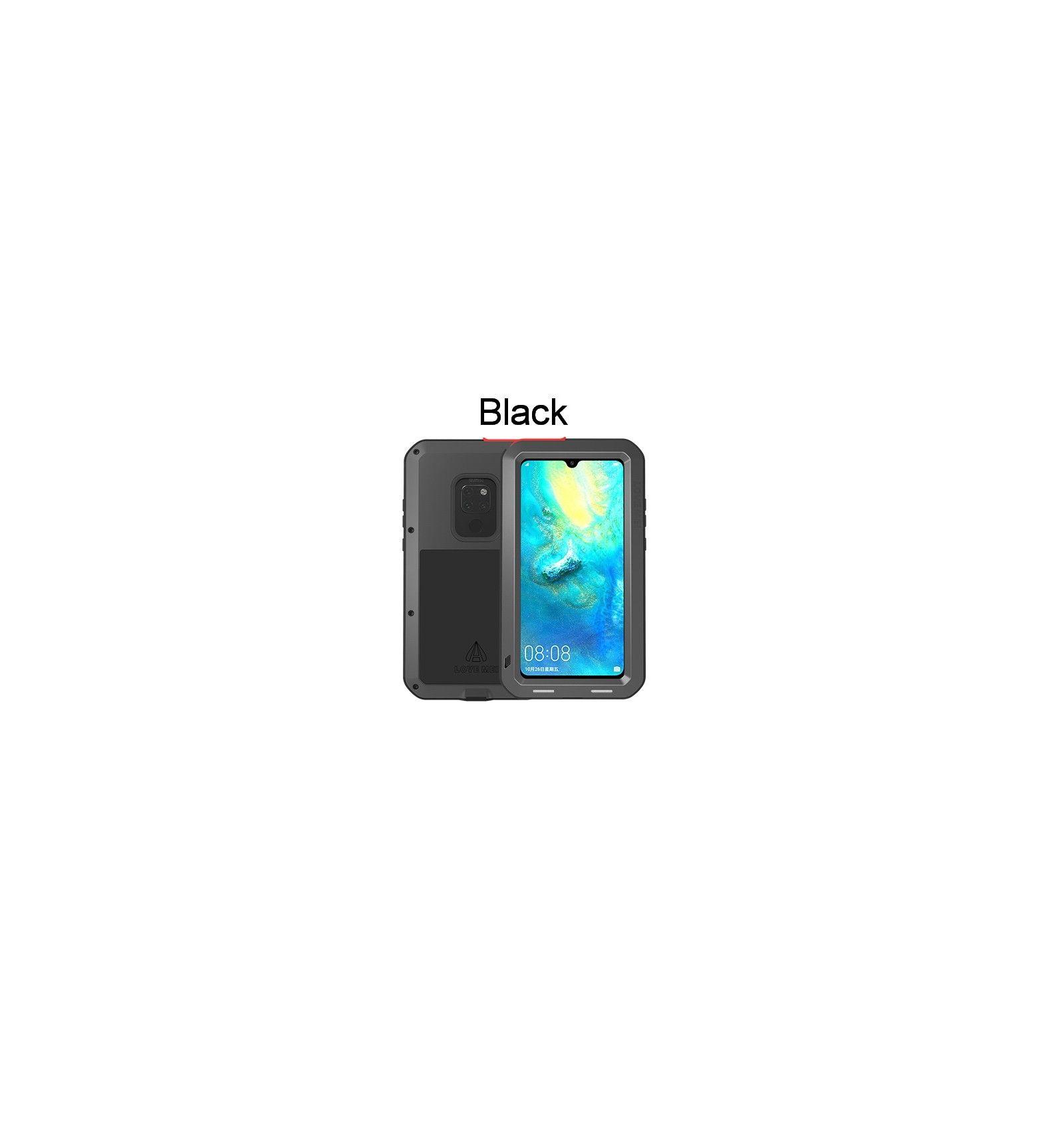 Lovemei Huawei Mate 20 Pro Stossfestes Gehause Stossfanger Aus Metall Mit Wasserdichter Staubdichter Displayschutzfolie Wearable Cell Phone Cases Smart Watch
