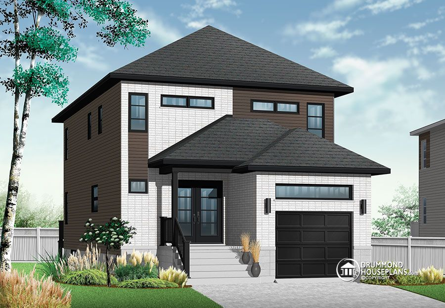 Narrow Lot House Plans Building Small Houses