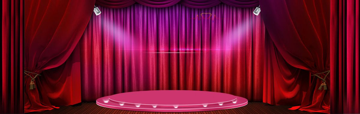 مسرح الستار ستارة أعمى واقية تغطي الخلفية Curtains With Blinds Red Curtains Curtains