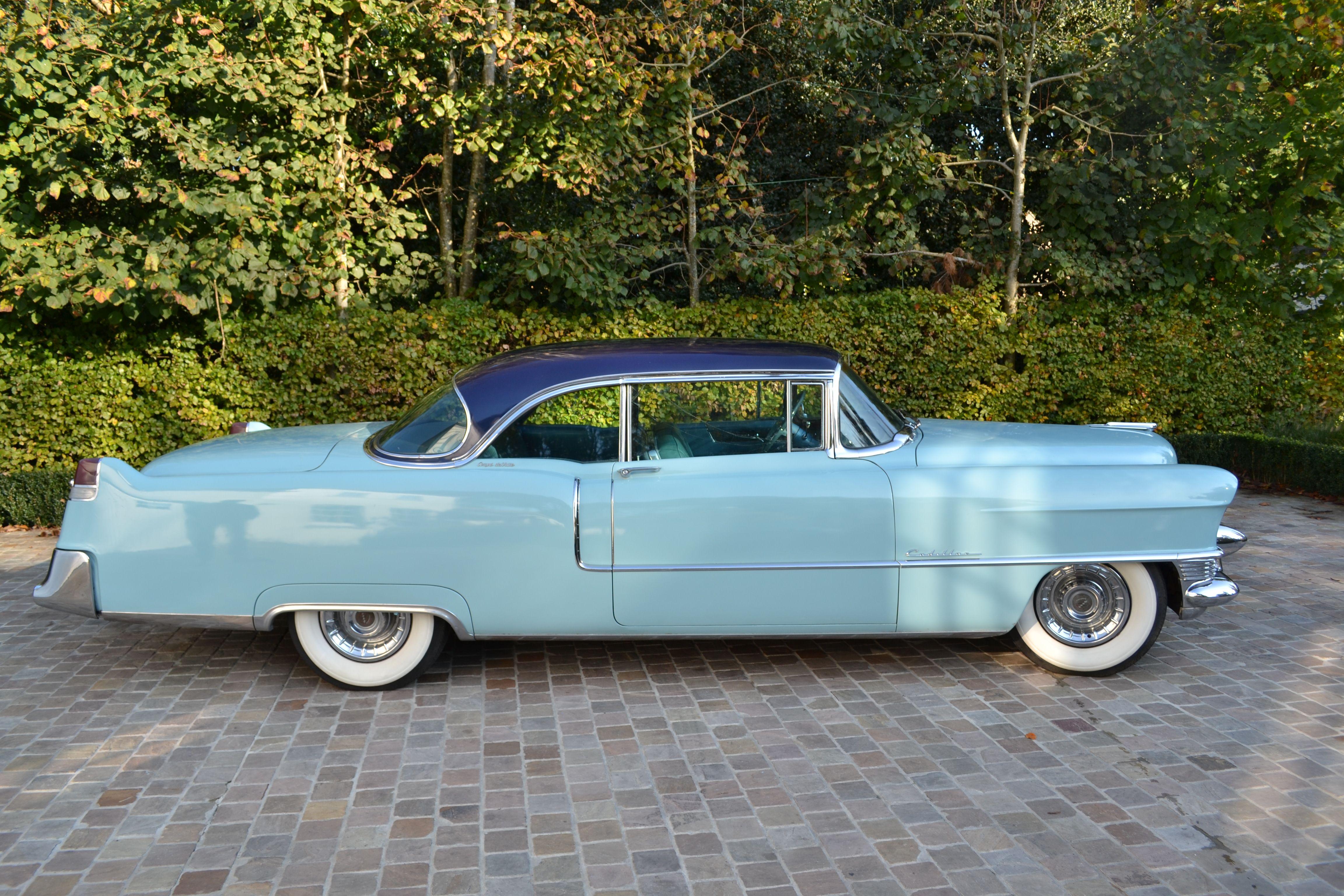 1955 Cadillac Gm T Autos Antiguos 1951 Sedan Deville Coupe