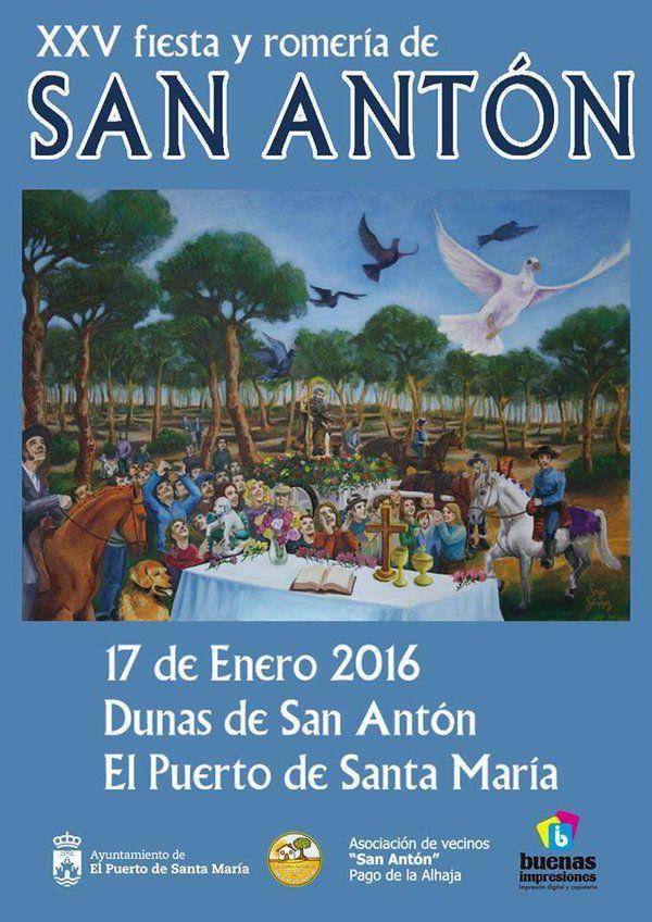 XXV Fiesta y Romería de San Antón.  17 de enero de 2016