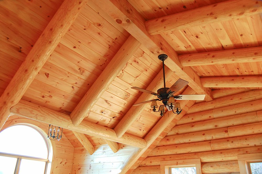 White Pine Tongue Groove Rafters And Ridge Post Beautiful Shed Roof Tongue And Groove Panelling Tongue And Groove Log Homes