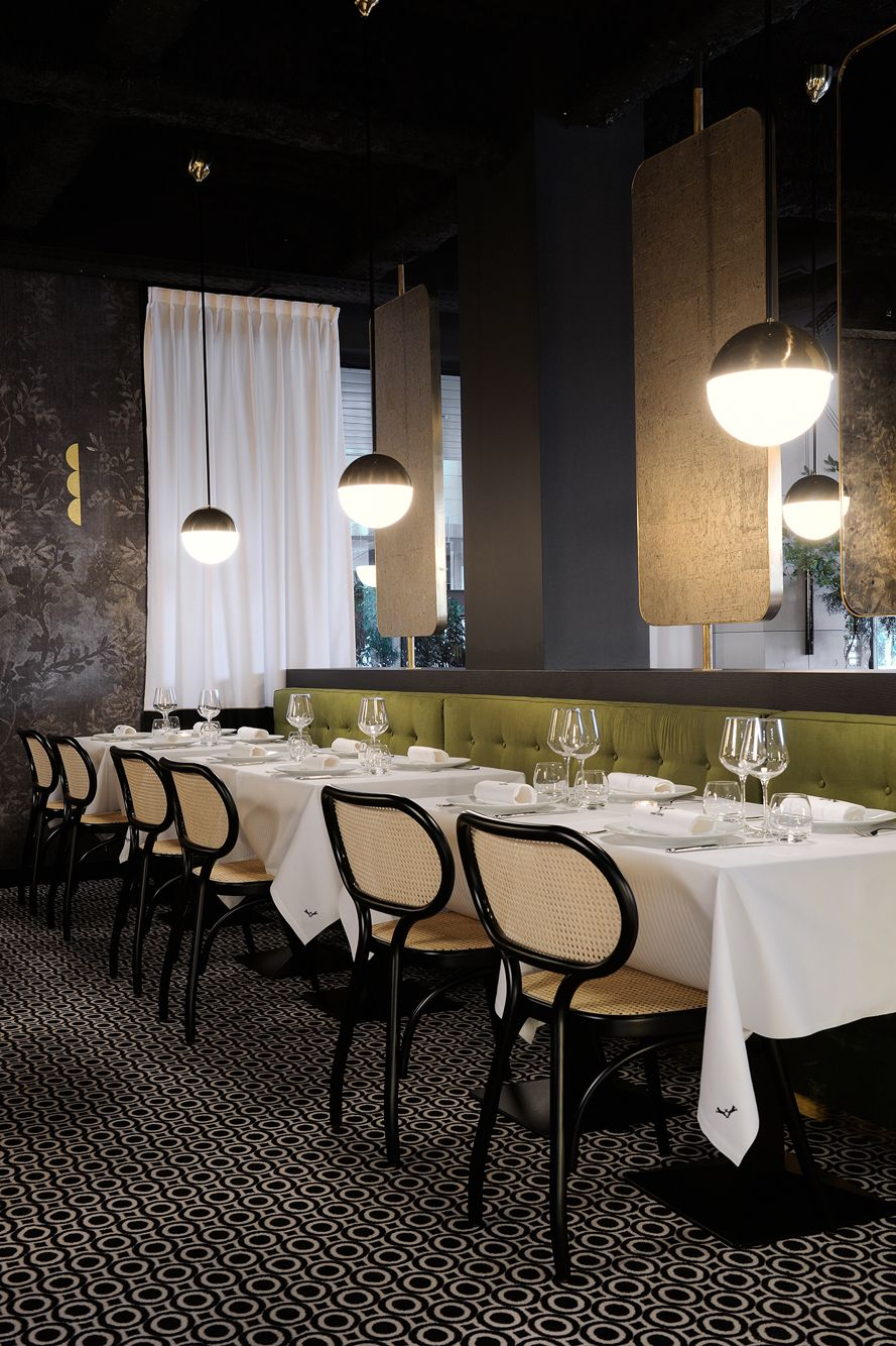 Project restaurant lyon claude cartier décoration la