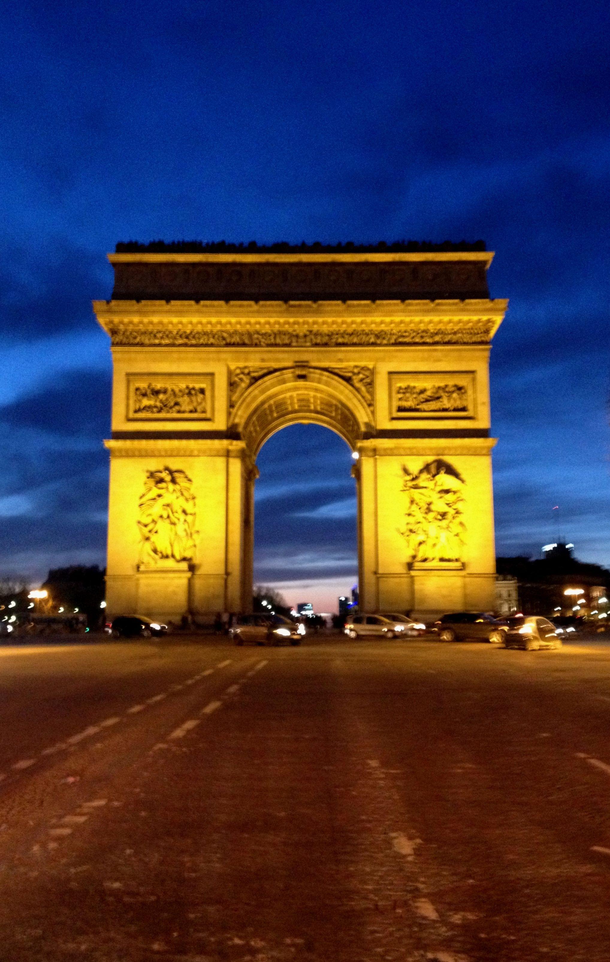 arc du triomphe, paris
