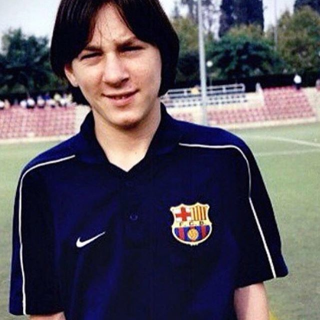 Image result for messi young