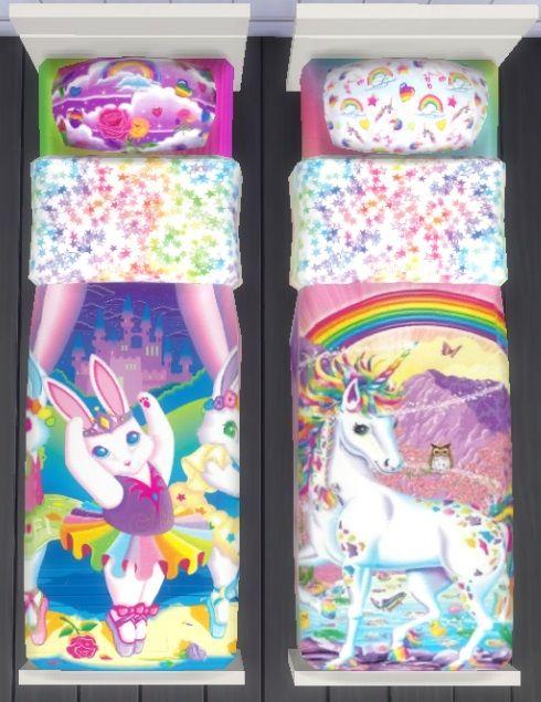 6398e3a7b14 Sunshine   Rose s Custom Content — Lisa Frank Bedding -Set of 8 Lisa Frank  Bedding.