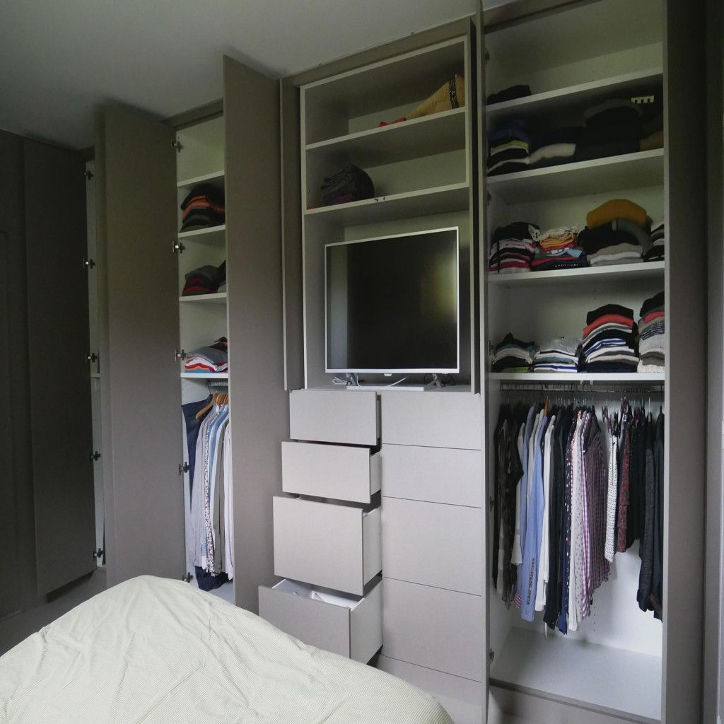 Chambre Dressing Ouvert Dressing Avec Tele Dressing Avec Tv