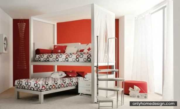Genial Modern Child Space In Share Room Idea   Http://www.onlyhomedesign.