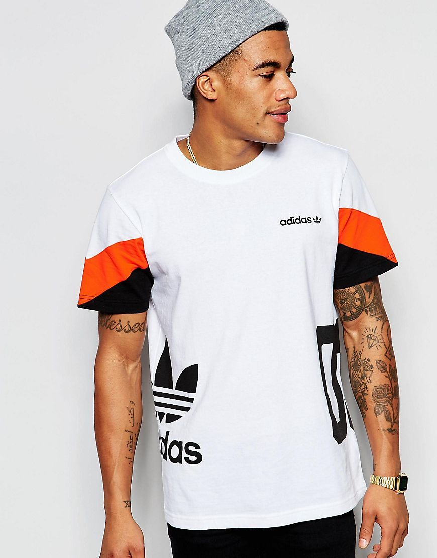 bcedc528625e adidas+Originals+T-Shirt+in+Colour+Block+AO0541