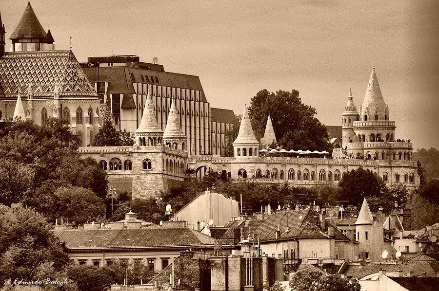 Budapest | Fishermen's Bastion. Fb https://www.facebook.com/BudapestPocketGuide  credit: Eduardo Balogh Photography  #budapest