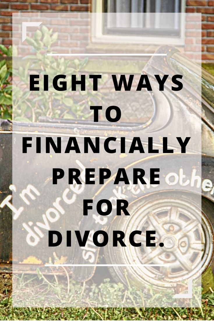 Divorce can be expensive and taxing on you and your family. Learn eight ways you can prepare for any financial obstacles you might face. From getting a family law attorney to visiting the bank, this list has got you covered. #divorce