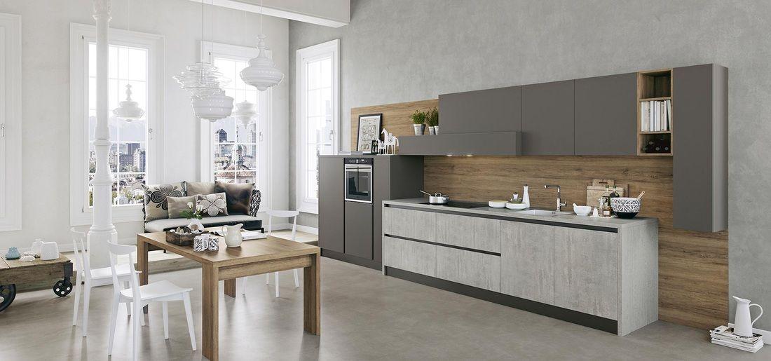 cucina lineare Milano | Arredo3 Cucine 2017 | Pinterest | Modern ...