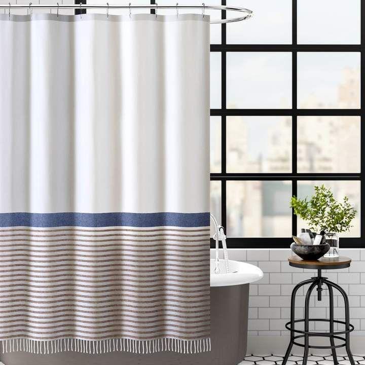 Trent Austin Design Bihari Cotton Single Shower Curtain Shower
