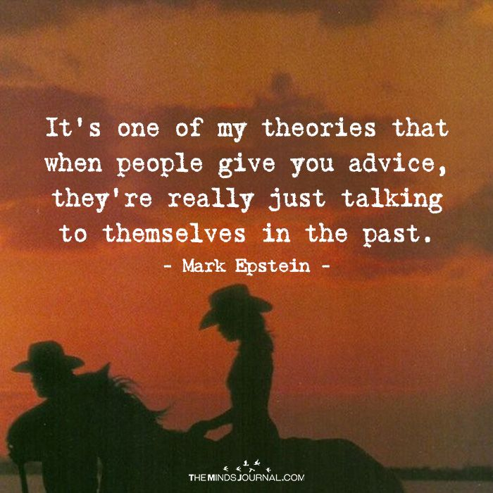 It's One Of My Theories | Teach Me Life - Life Lessons | Life Quotes