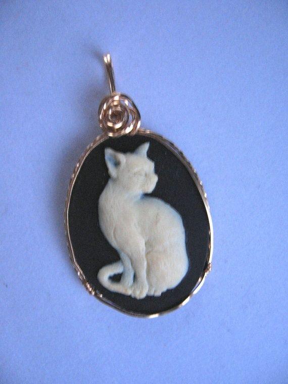 Cat cuff cat jewelry Cat ready to ship crazy cat lady Antique cat bracelet Cat cameo cat bracelet gifts for her retro