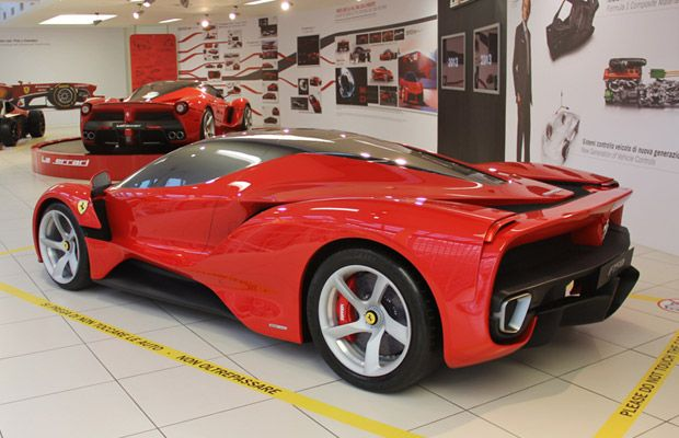 Gallery The Ferrari F150 Concepts Looked Much More Like Spaceships