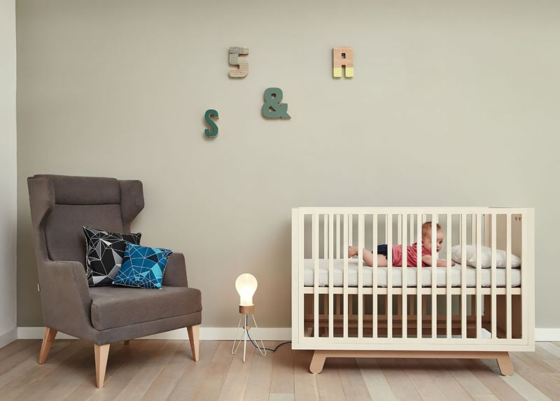 Kutikai Peekaboo Cot/Modern Nursery Furniture at MOOD