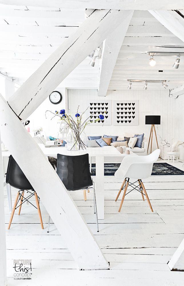 pinned by barefootstyling.com  Amazing white interior, Tutze store, Harderwijk, the Netherlands