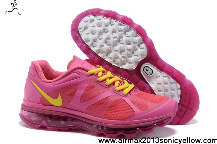 Wholesale Cheap Womens 488124-601 Nike Air Max 2012 Desert Pink Atomic Green Rave Pink Casual shoes Store