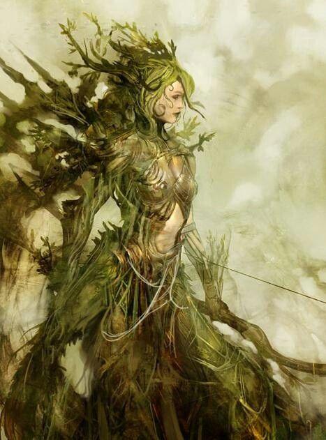 Goddess Nature Fantasy Art
