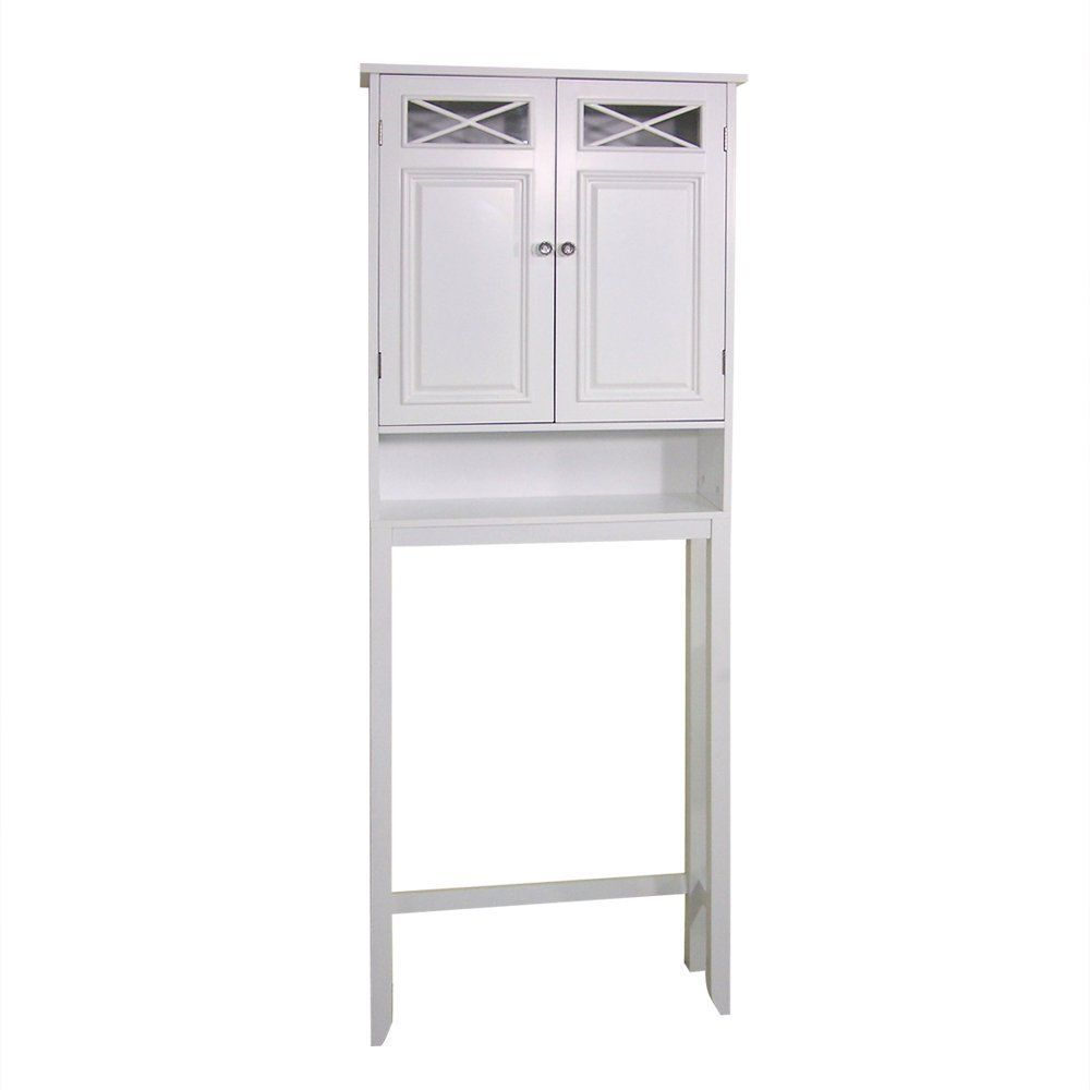 Over the toilet bathroom organizer wall cabinet extra storage