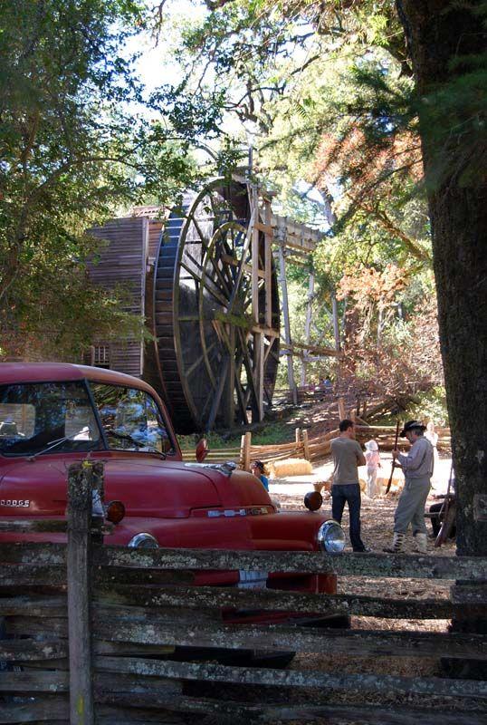 Napa Valley Historic Bale Mill. Photographer: Meghan Lamb. #napavalley #winecountry