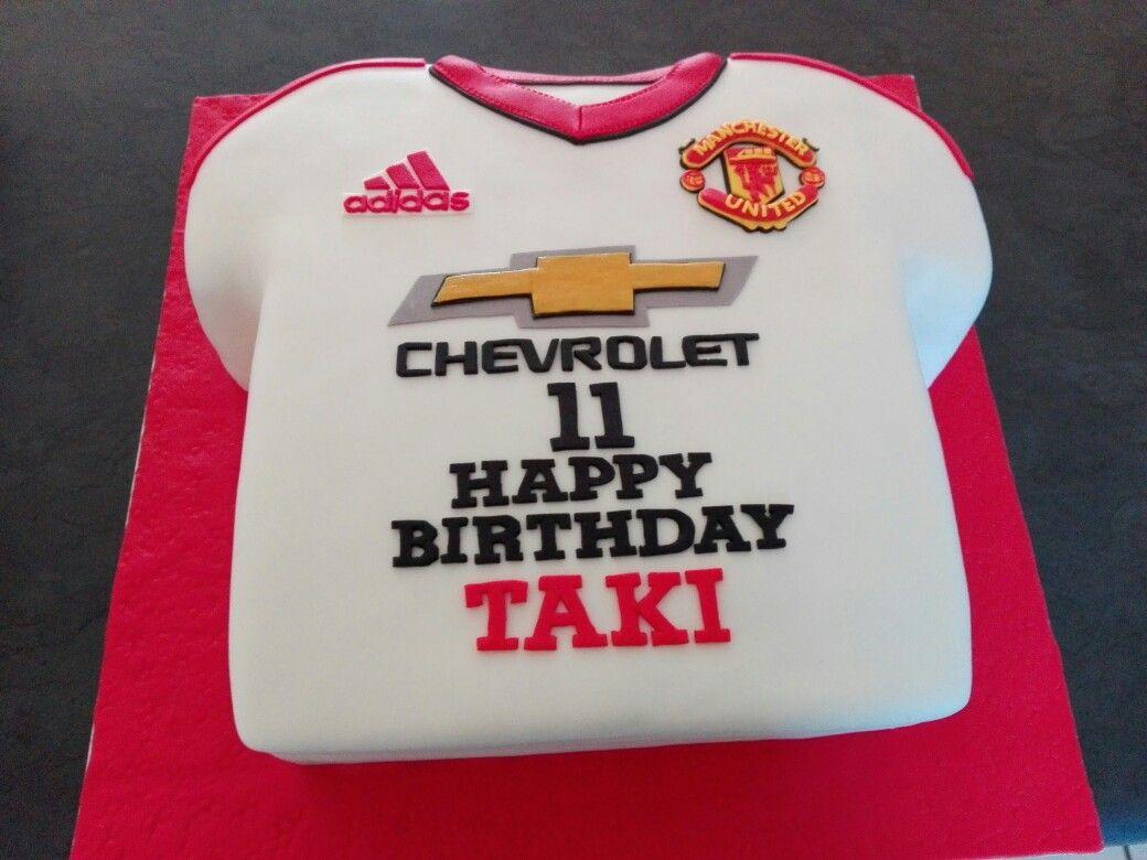 Manchester United Shirt Cake Shirt Cake Manchester United Shirt Manchester