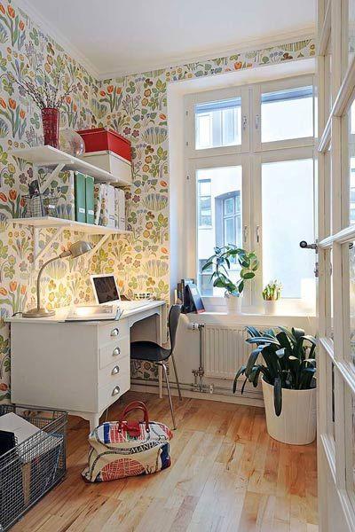 cozy little workspace