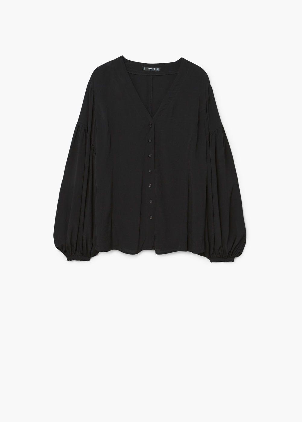 100% Qualität viele Stile billig zu verkaufen Bluse mit ballonärmel - Damen | M A N G O | Hemdblusen ...