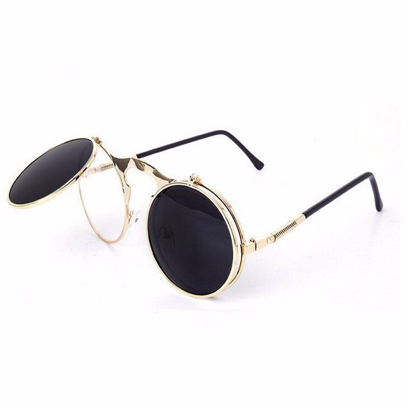 a3e717e26e Slippery' Hinge Sunglasses | Glasses | Steampunk sunglasses, Circle ...
