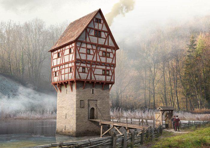 Topplerschlösschen Rothenburg ob der Tauber